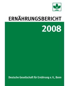 Ernährungsbericht 2008 Buch inkl. CD-ROM