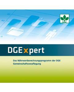 DGExpert Das Nährwertberechnungsprogramm der DGE Gemeinschaftsverpflegung Netzwerkversion (Zusatzlizenz)  Version 2.0