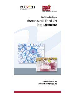 DGE-Praxiswissen - Essen und Trinken bei Demenz