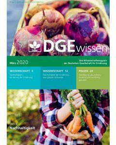 DGEwissen - Das Wissenschaftsmagazin der Deutschen Gesellschaft für Ernährung