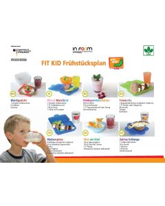 FIT KID Frühstücksplan