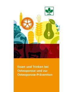 Essen und Trinken bei Osteoporose